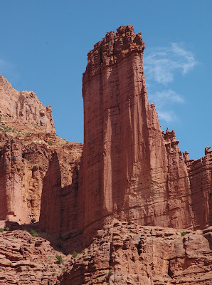 The Fisher Towers near Moab,Utah