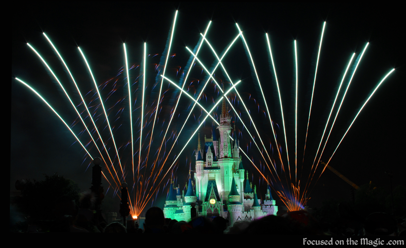 Magic Kingdom Wishes nighttime spectacular ~ Focused on the Magic.com