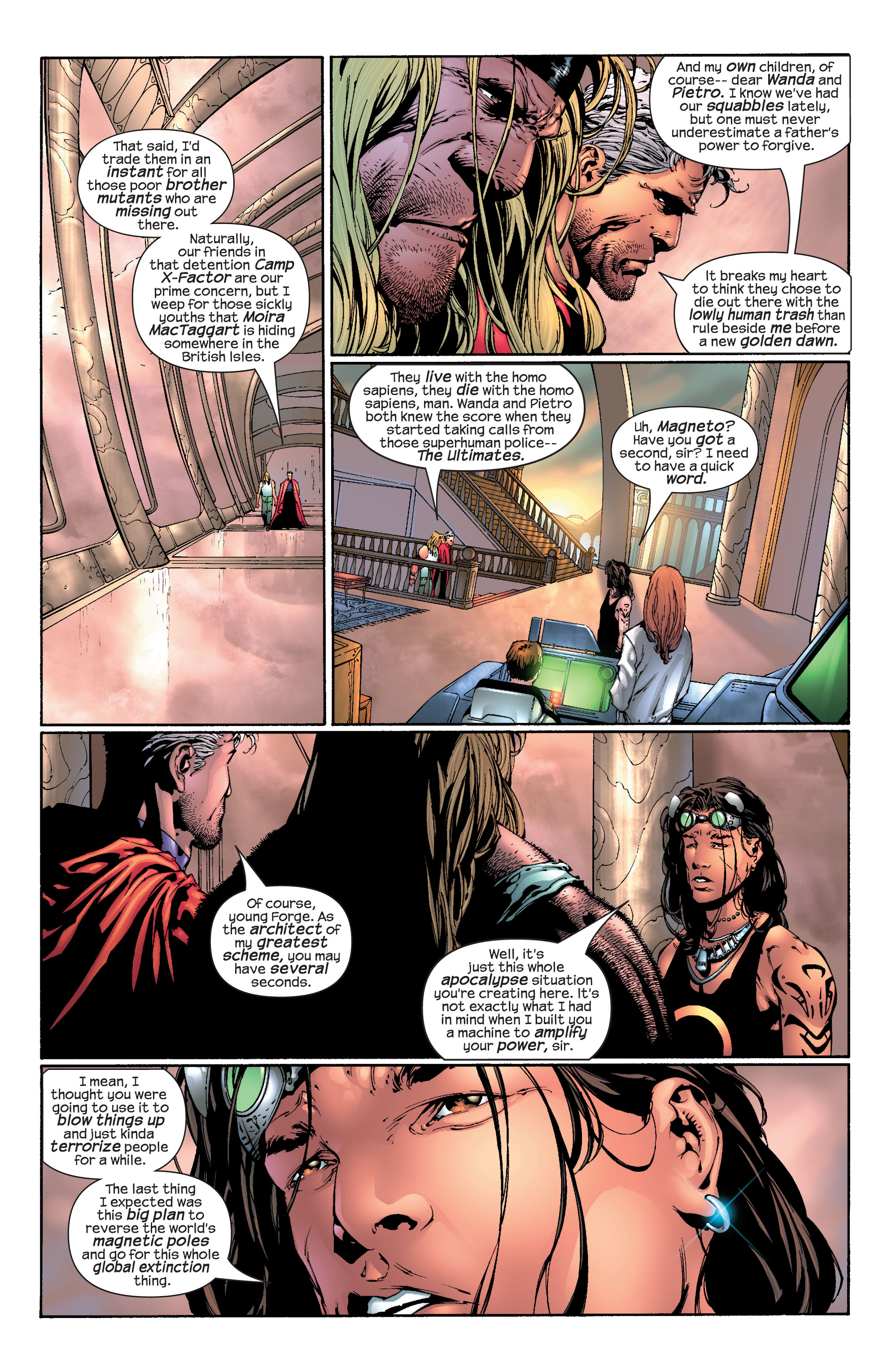 Read online Ultimate X-Men comic -  Issue #30 - 5