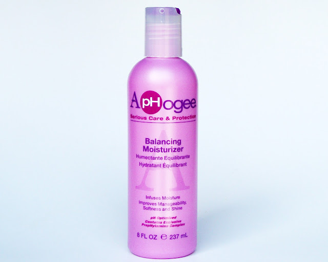 ApHogee cruellty-free hair care for damaged hair, Balancing Moisturizer review