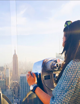 NYC tourist travel guide top of the rock student
