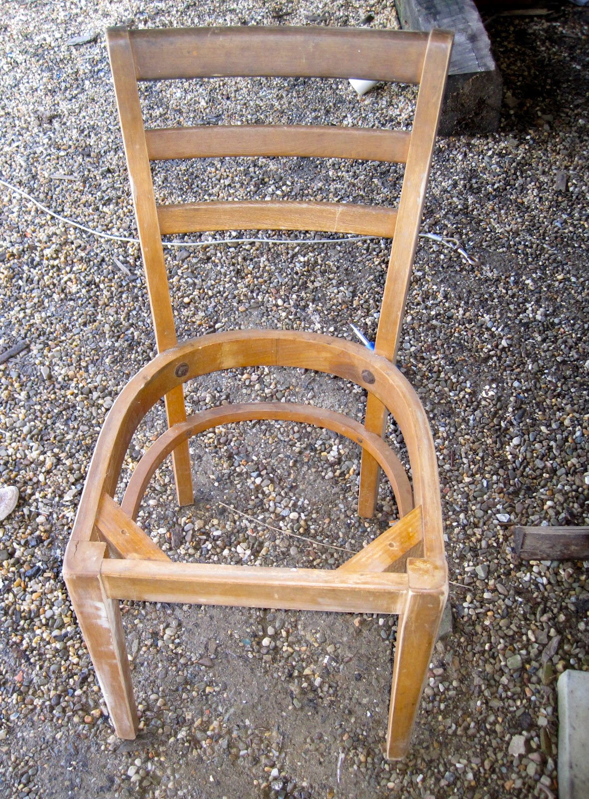 The Vintage Magi From Trash To Treasure Ladder Back Chairs