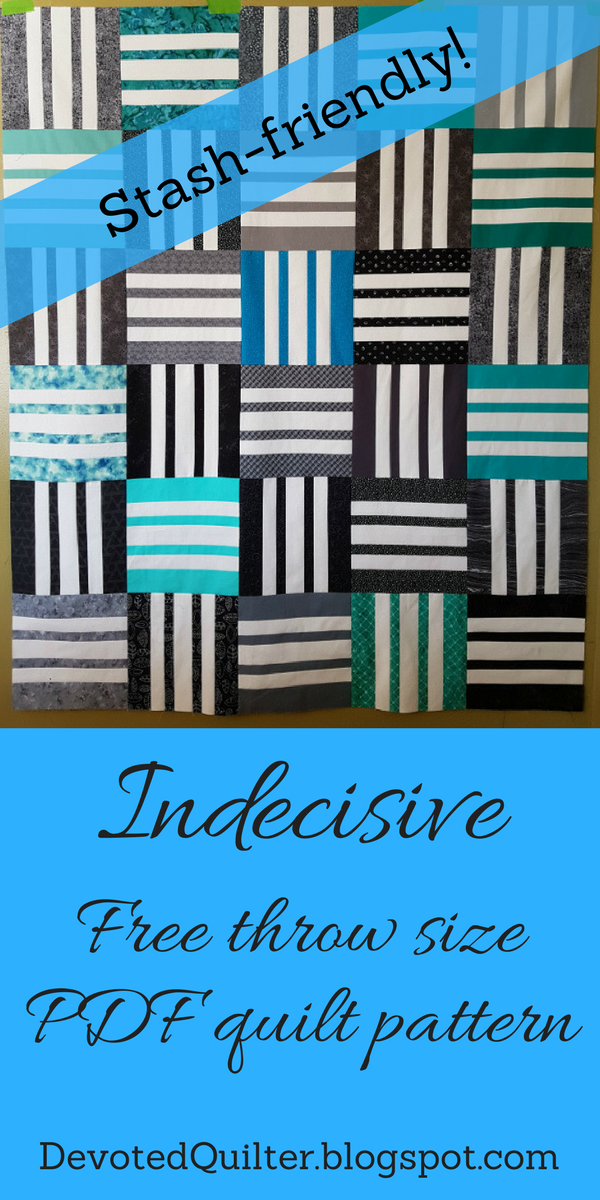 Indecisive PDF Quilt Pattern | DevotedQuilter.blogspot.com