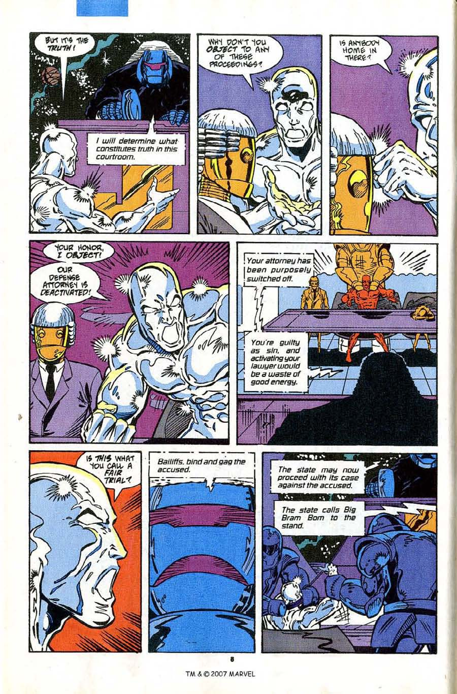 Read online Silver Surfer (1987) comic -  Issue #43 - 10