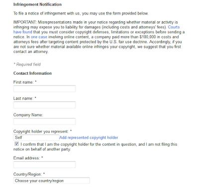 DMCA Complaint 1