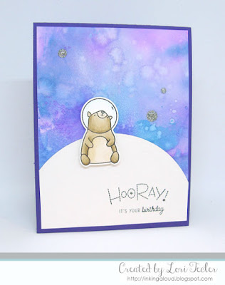 Hooray card-designed by Lori Tecler/Inking Aloud-stamps and dies from Mama Elephant