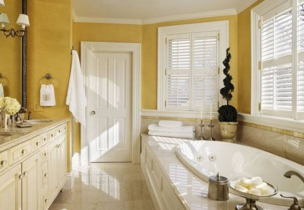 Bon This Color Able Simultaneously Create Impression Of A Healthy Bathroom,  Check The Ideas Below.