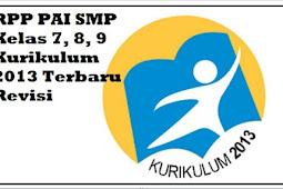 RPP PAI SMP Kelas 7, 8, 9 Kurikulum 2013 Terbaru Revisi 2019 2020
