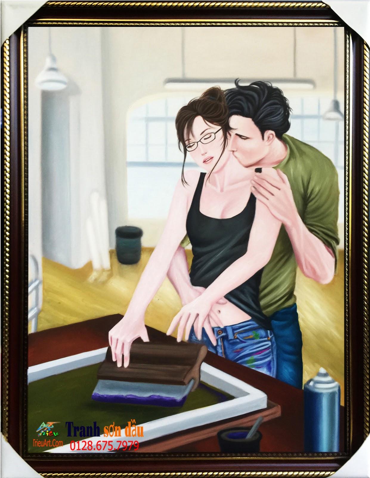 tranh lãng mạn