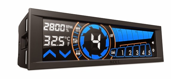 NZXT Introduces the Sentry 3 Touchscreen Fan Controller 12