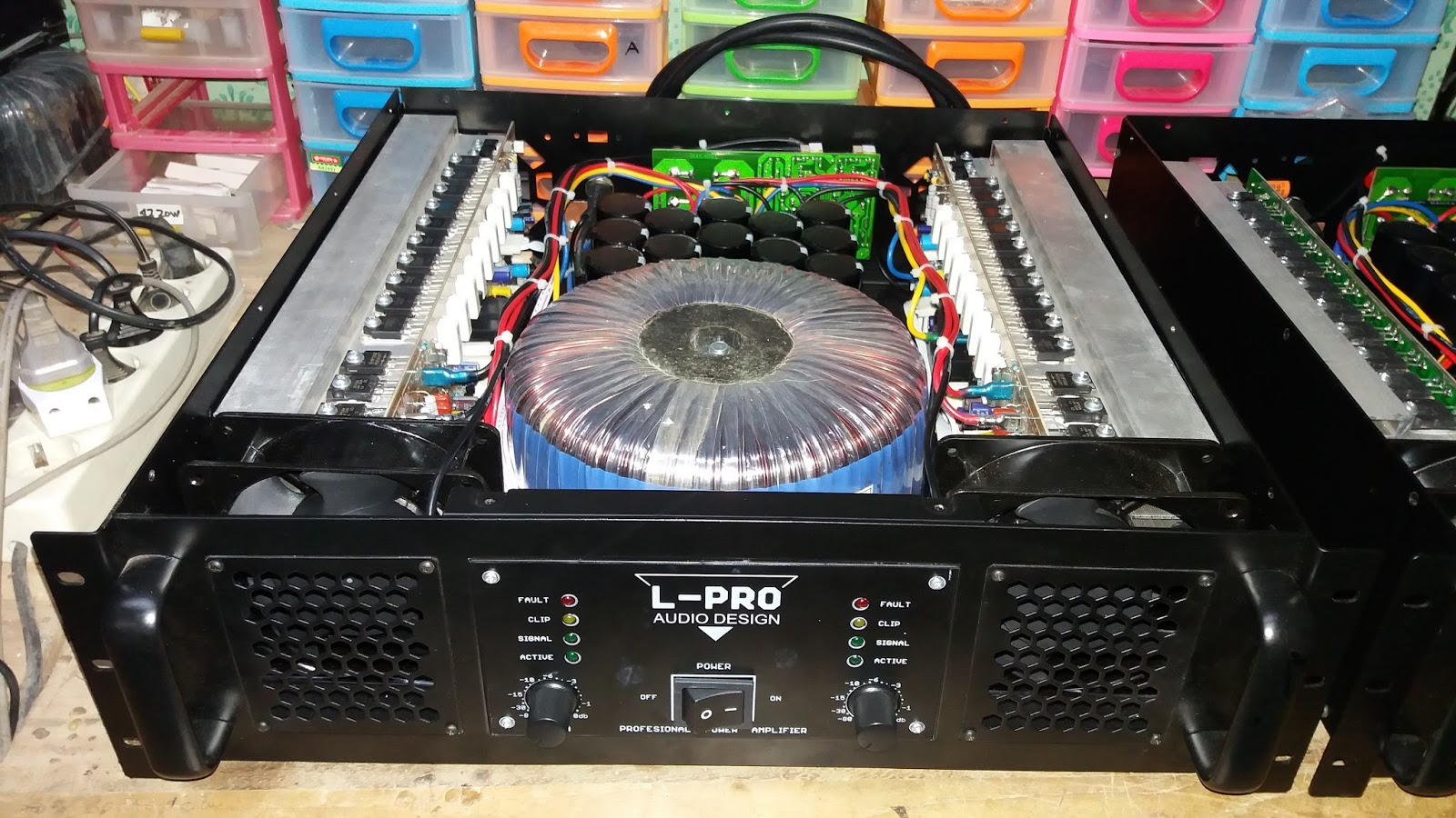 Power Amplifier para Profesional: POWER APEX H1200 TEF for Low and Sub