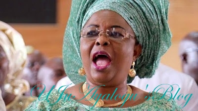 Patience Jonathan Blows Hot, Asks Court to Unfreeze Her 16 Bank Accounts
