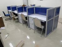 Meja Sekat Kantor - Cubicle Worstation
