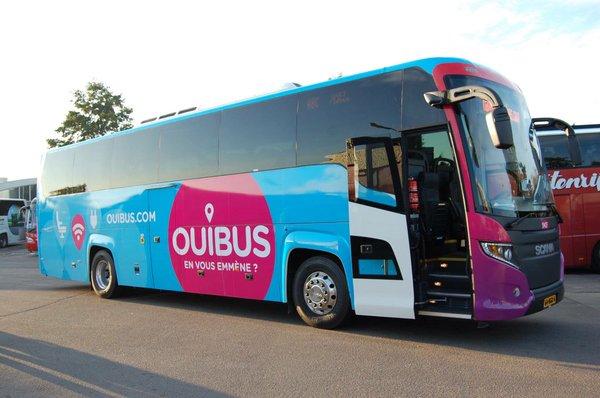 Ônibus Ouibus de Paris a Lyon