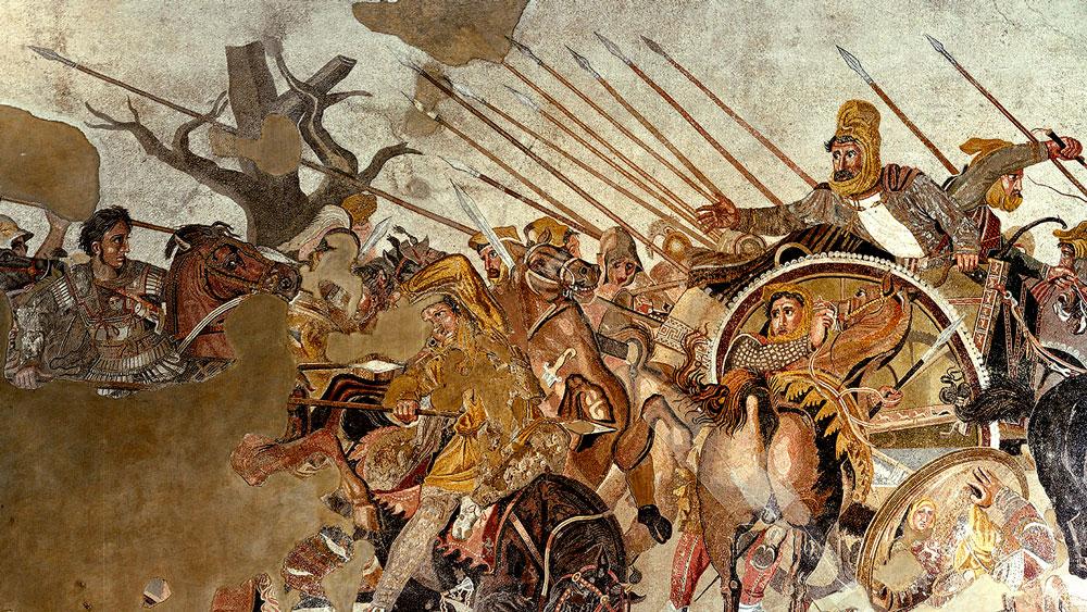 Roomalaista mosaiikkitaidetta.