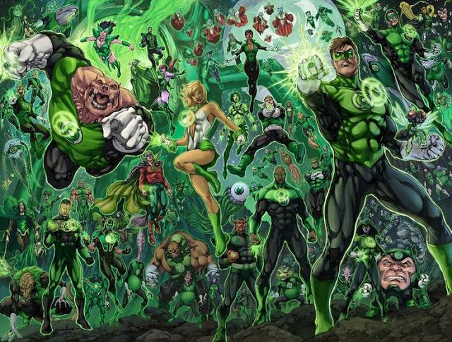 Semua tentang Green Lantern Corps fakta green lantern