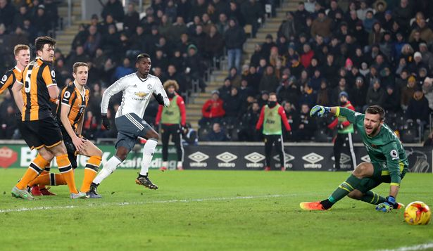Manchester united and hull city in league cup
