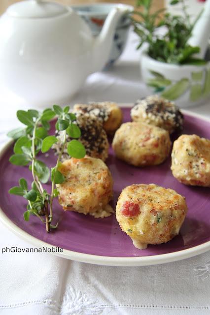 Polpettine di pane con prosciutto cotto Lenti & Lode ed erbe aromatiche
