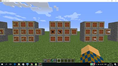 Minecraft crafting szőnyeg