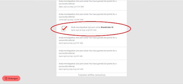 Imbalan Point dari Situs Yougov