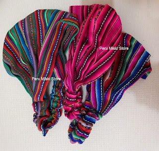 Colorful headbands from Peru
