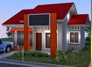 desain rumah minimalis 1 lantai type 45