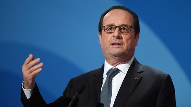 Hollande quiere juntar a Netanyahu y Abás en París