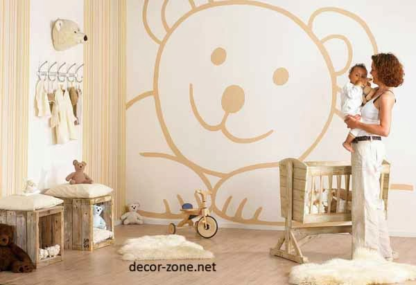 kids room wall decor ideas for newborn baby