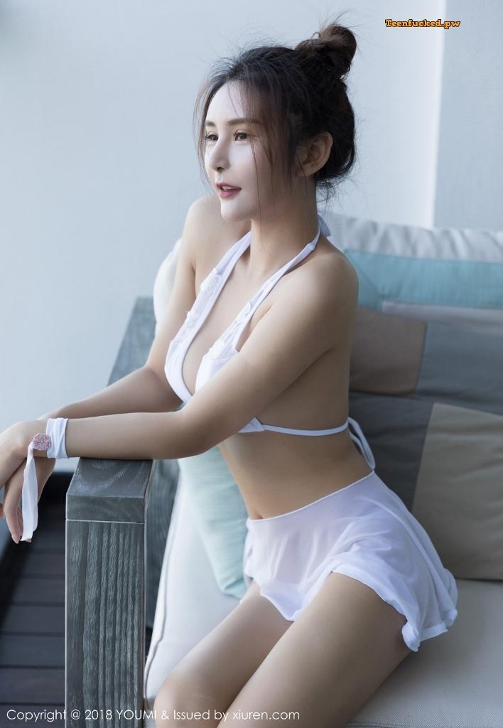 YouMi Vol.224 SOLO MrCong.com 022 wm - YouMi Vol.224: Người mẫu SOLO-尹菲