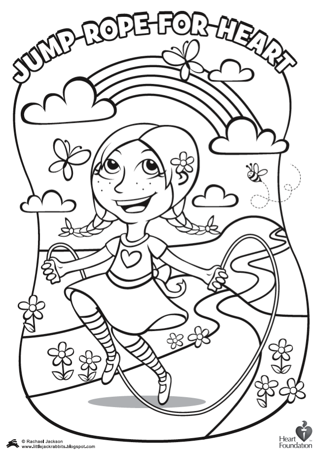 Librarians plan ahead for february american heart month for Healthy heart coloring pages