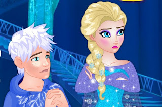 Elsa Breaks up With Jack awesome frozen online games free