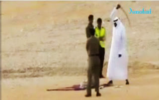 Public beheading in KSA (file photo)