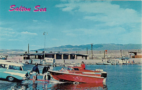 vintage salton sea postcards