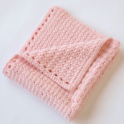 Cozy Clusters Baby Blanket - Free Pattern
