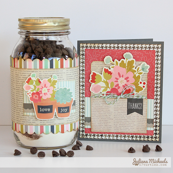 Thank You Jar Brownie Mix Recipe by Juliana Michaels