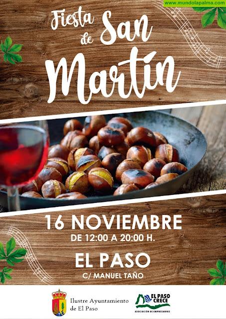 El Paso celebra la Fiesta de San Martín este sábado con las tradicionales castañas, vino y conciertos