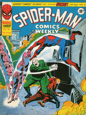 Spider-Man Comics Weekly #154