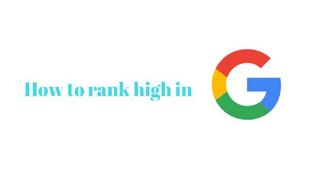 rank high in google