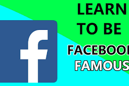 How to Be Facebook Famous