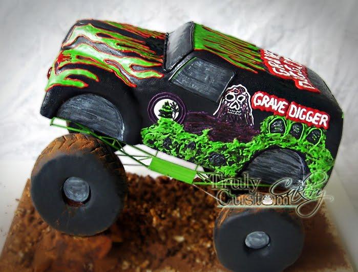 Truck Drivers Birthday Cake