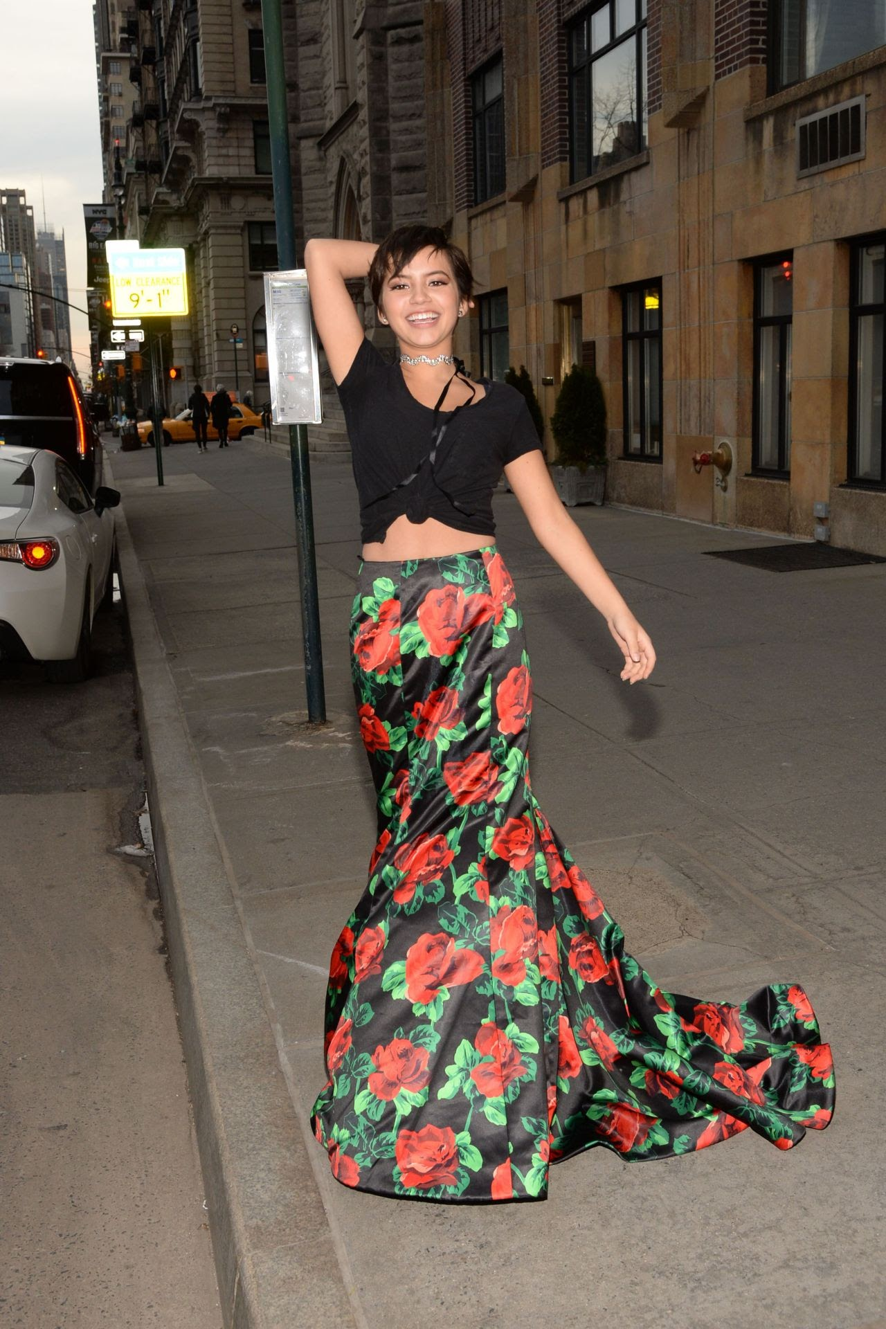 Isabela Moner actress of Transformers The Last Night