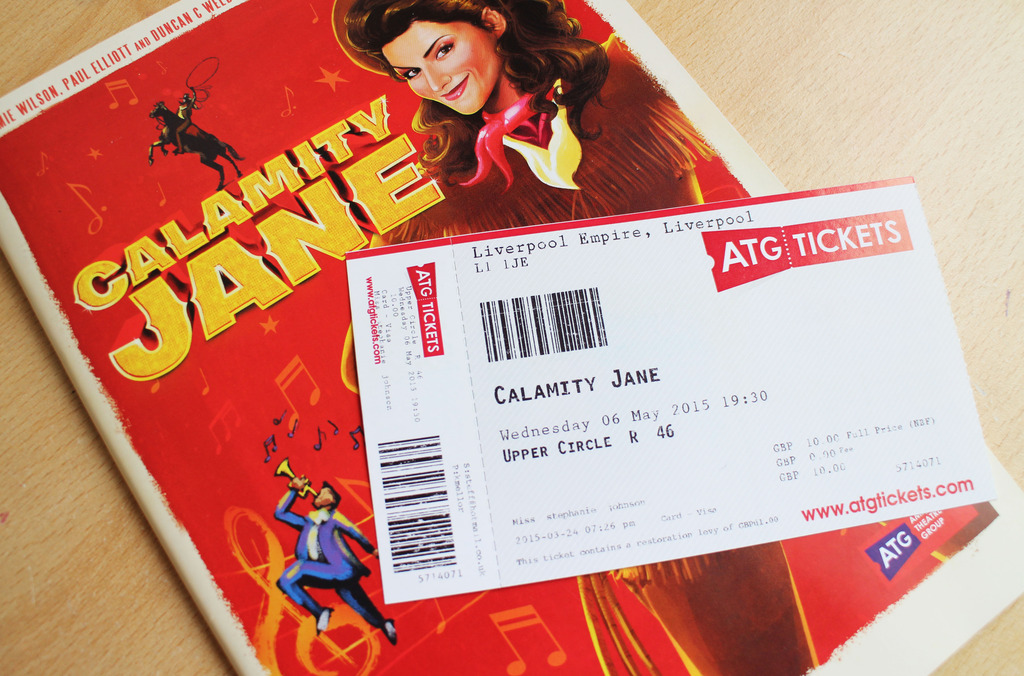 Liverpool Empire | Calamity Jane