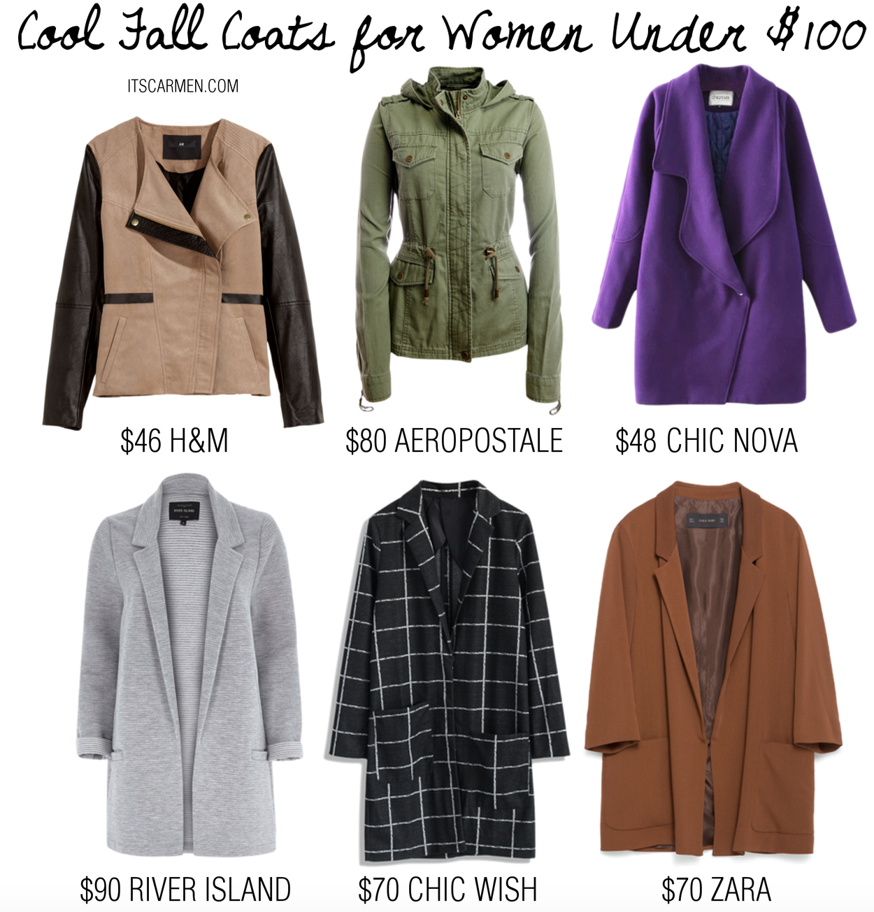 cool fall coats