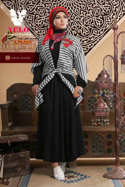 بهجة خاصة وفكر منفرد خلف أزياء صاحبة الذوق الرفيع مروة البغدادي