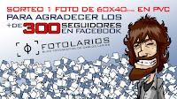 Sorteo 300 seguidores en Facebook