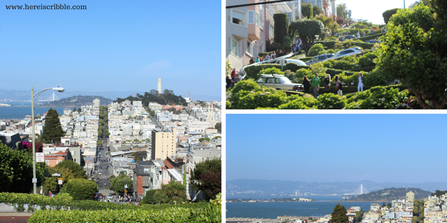 Lombard street san francisco - No words (Throwback Thursday) — October Blogging Challenge Day 22