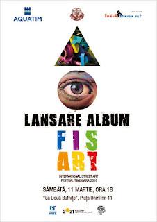 Lansarea albumului Fisart - 11 martie 2017
