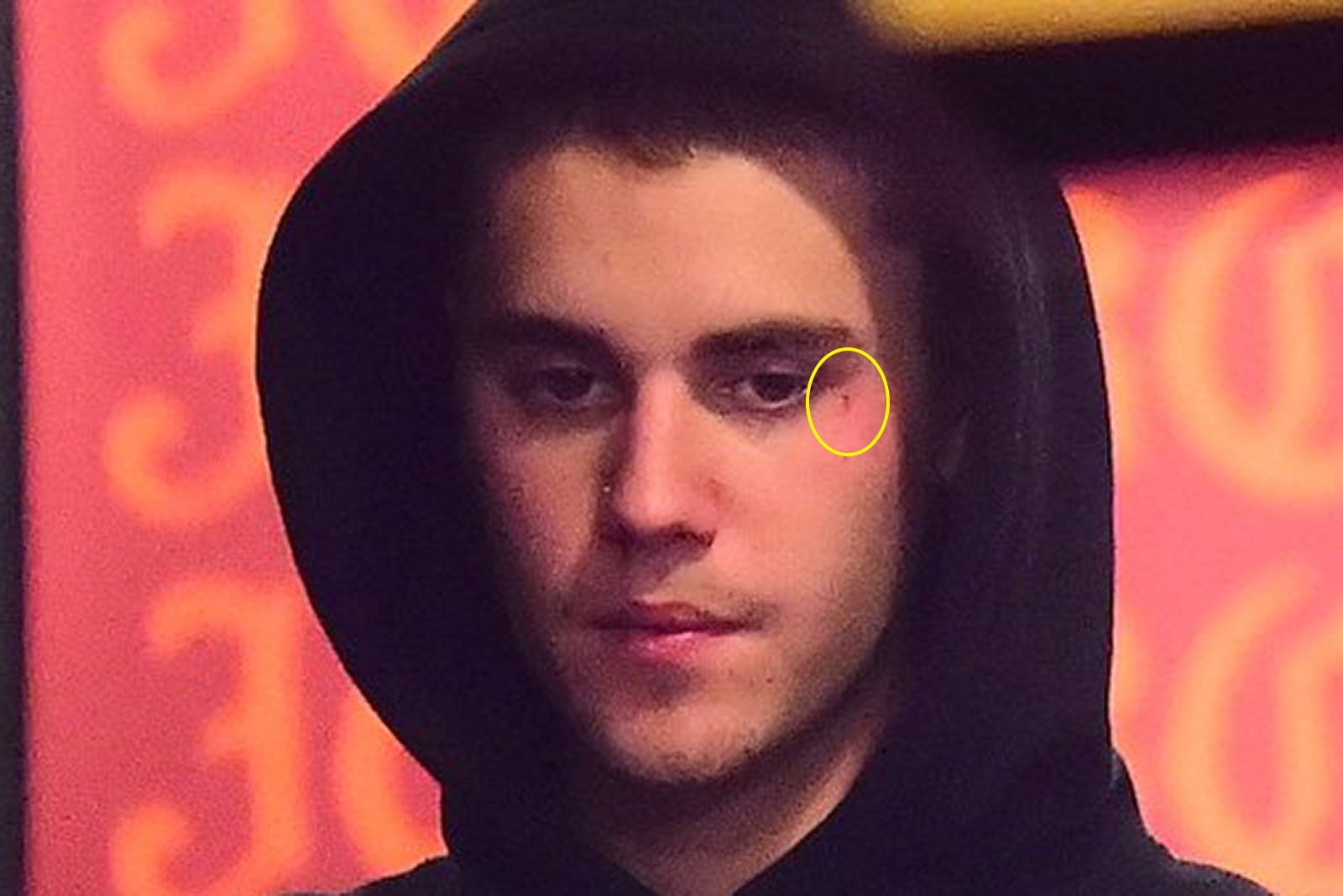 Justin Bieber face tattoos 2019
