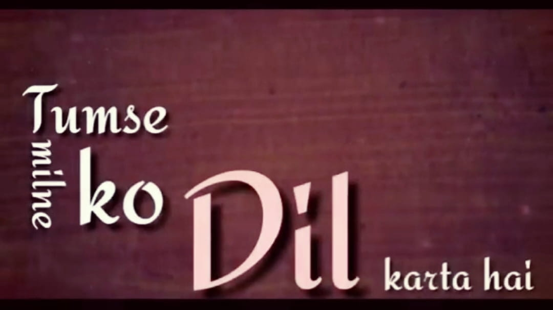 Tumse Milne Ko Dil Karta Hai WhatsApp Video Status Download