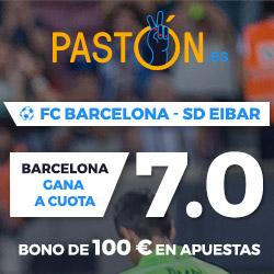 Paston Megacuota 7 Barcelona vs Eibar 19 septiembre